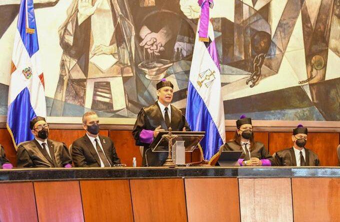 Molina destaca que justicia cumplió su rol pese a pandemia